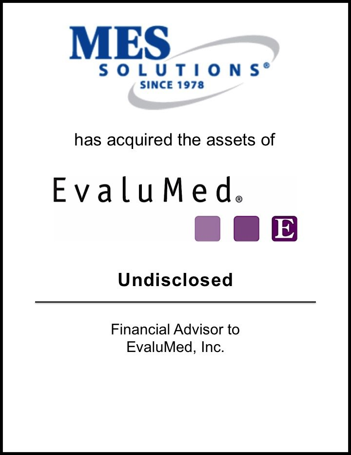 MES Group Acquires EvaluMed