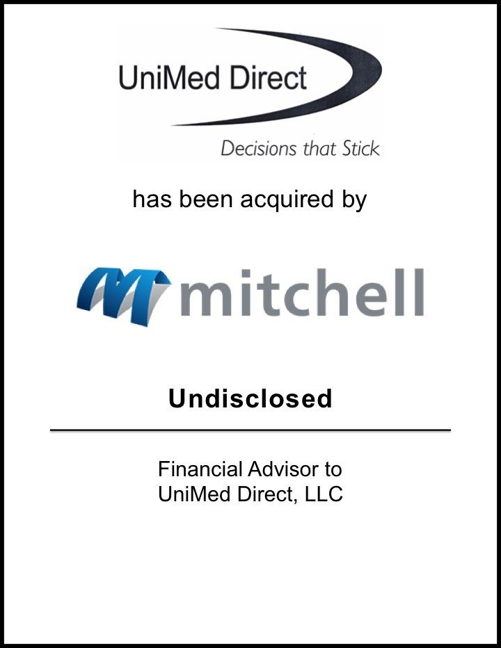 Mitchell International Acquires UniMed Direct